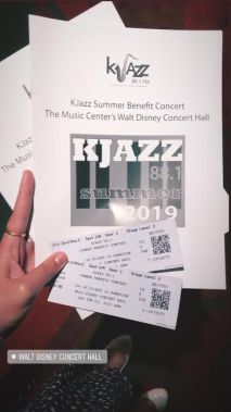 KJazz Summer Benefit Pamphlet